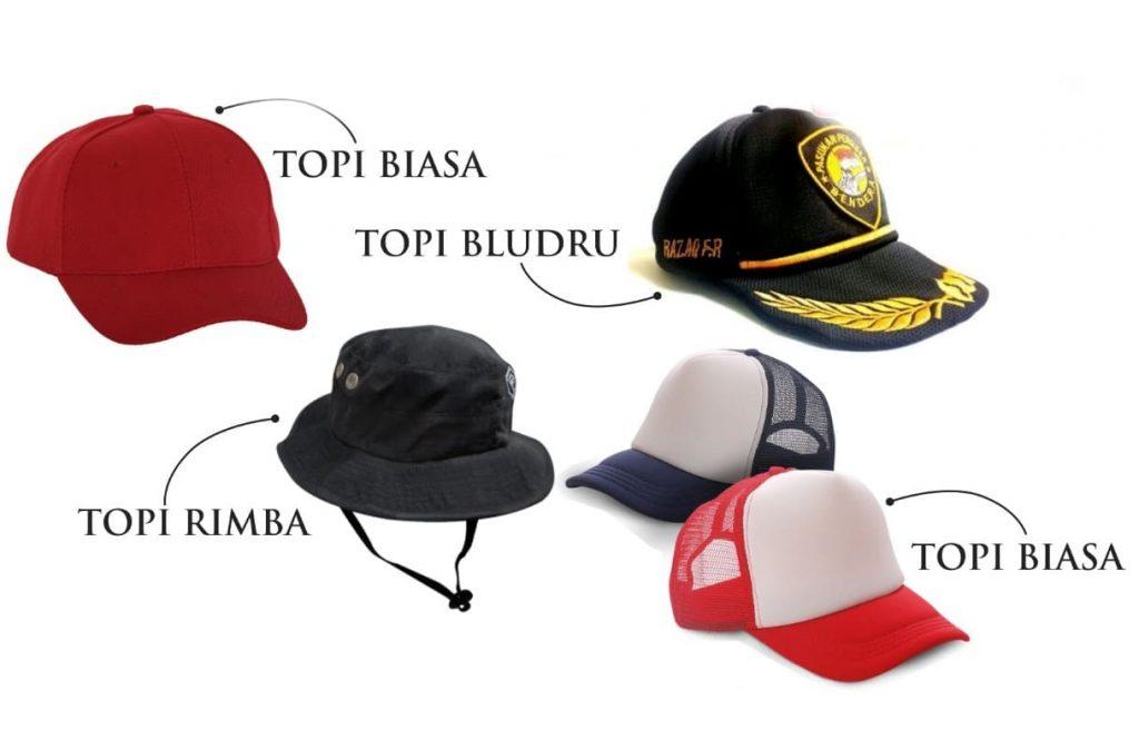 Harga pembuatan topi