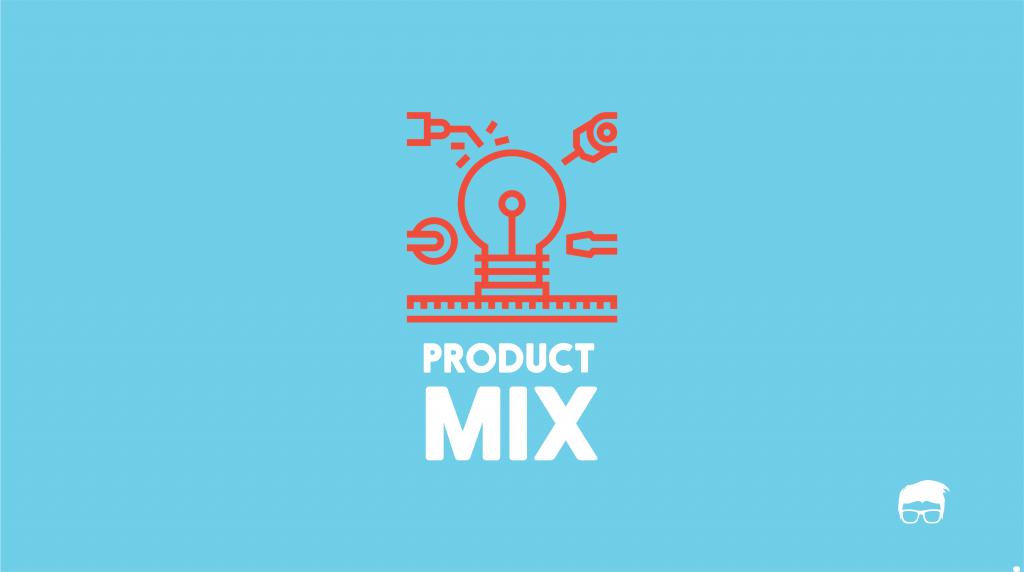 Ilustrasi pilihan usaha dengan mix product