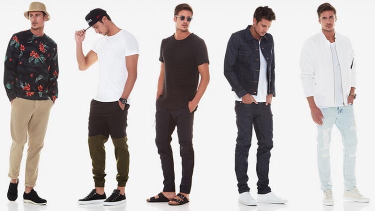 Berbagai model pakaian pria, Sumber : lifestyle.okezone.com