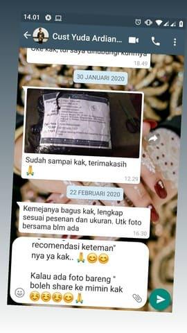 Testimoni konveksi Yogyakarta